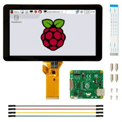 "7"" touch screen 800x480px capacitive DSI for Raspberry Pi"