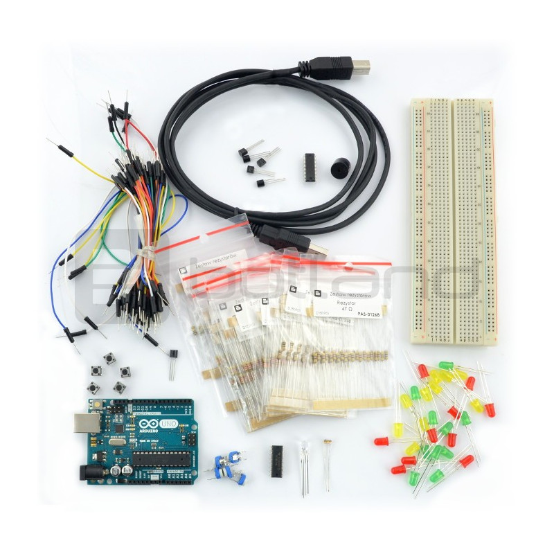 Basic StarterKit with Arduino Uno module