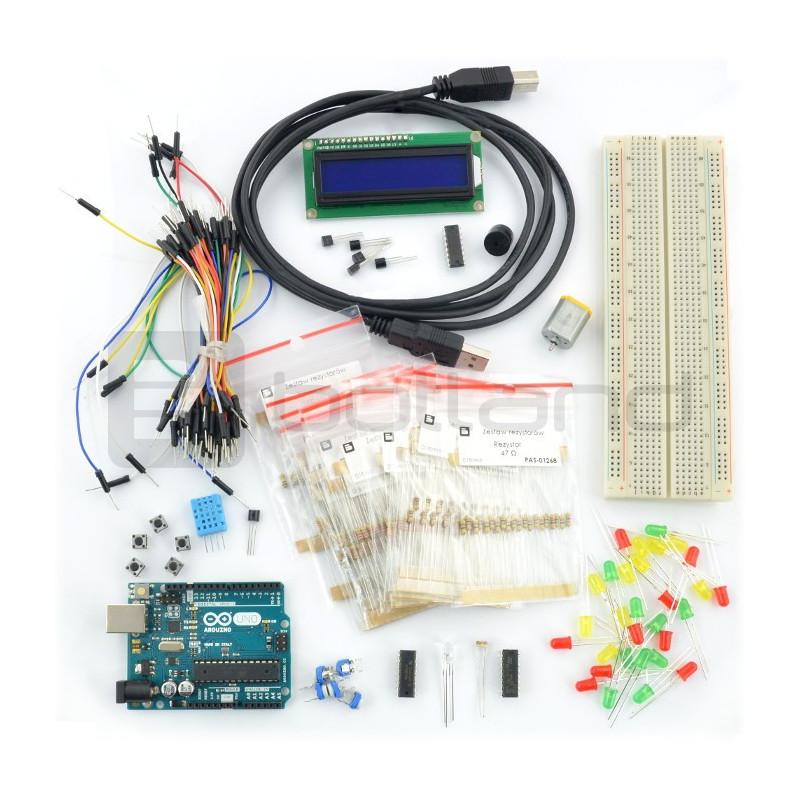 StarterKit rozszerzony - z modułem Arduino Uno