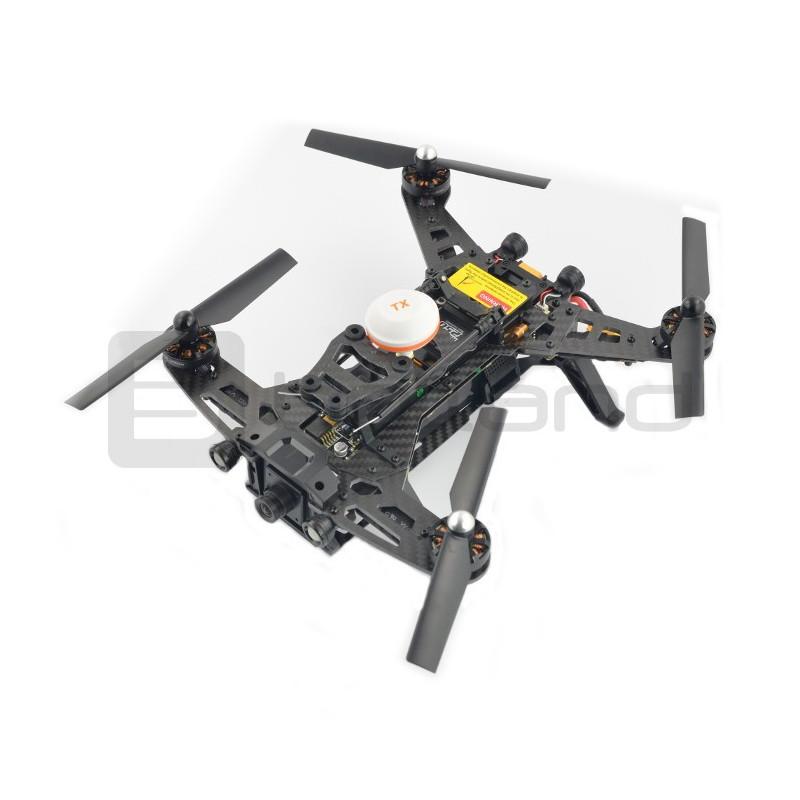 Dron quadrocopter wyścigowy Walkera Runner 250 RTF3 z kamerą FPV i modułem OSD - 22cm