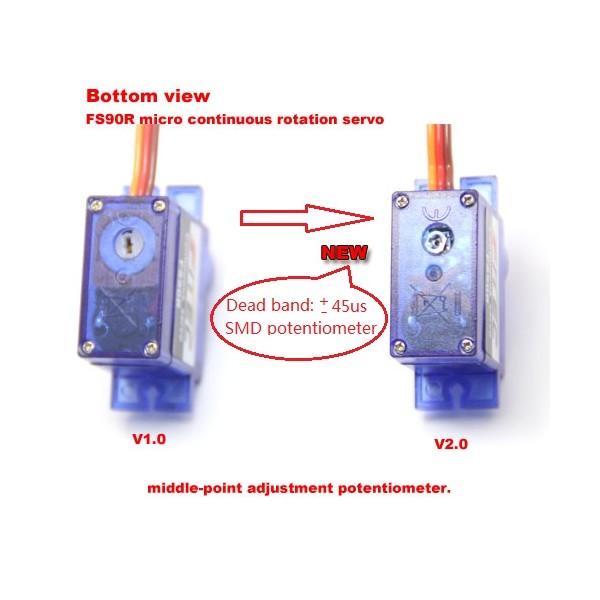 Servo Feetech FS90R - micro - continuous work 360 degrees*