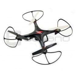 Dron quadrocopter LH-X10 2.4GHz z kamerą HD - 32cm