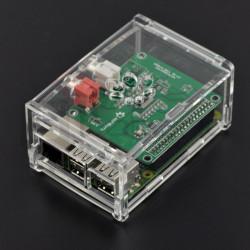 Obudowa do HiFiBerry i Raspberry Pi Model 2B/B+ przezroczysta