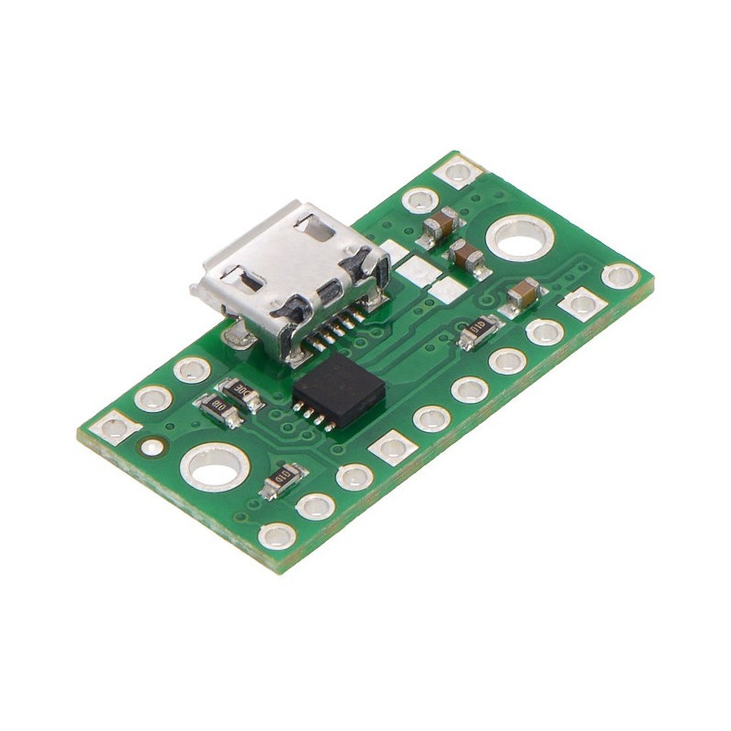 MicroUSB power connector with TPS2113A multiplexer - Pololu 2596_