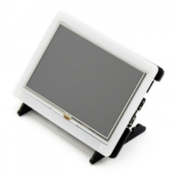 """Case for Raspberry Pi 2/B+ LCD screen display TFT 5"""" - transparent"""
