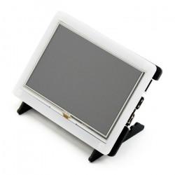 Obudowa do Raspberry Pi 2/B+ i ekranu LCD TFT 5'' - przezroczysta