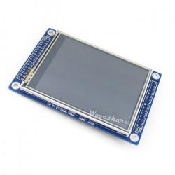 Wyświetlacz dotykowy rezystancyjny LCD TFT 3,2'' 320x240px - 3,3V SPI