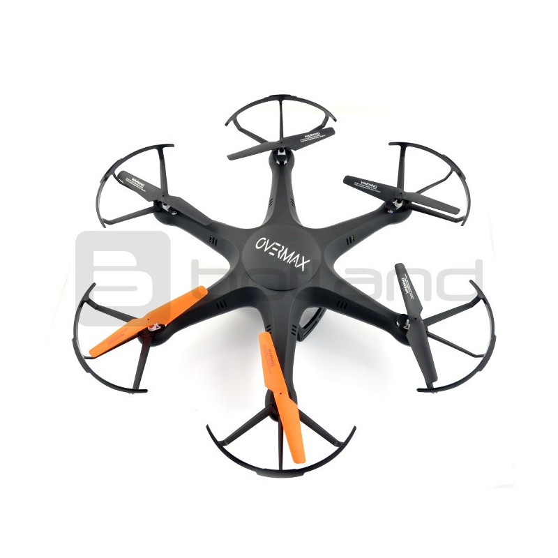 Drone hexacopter OverMax X-Bee drone 6 1 WiFi 2 4GHz with FPV camera - 56cm  + additional battery