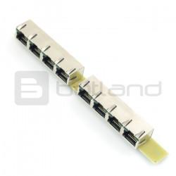 Konwerter I2C/1-Wire 8xRJ45 MOD-35