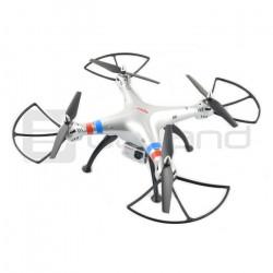 Dron quadrocopter Syma X8G 2.4 GHz z kamerą - 50 cm