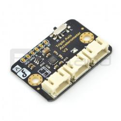 FXLN8361 3-osiowy akcelerometr analogowy