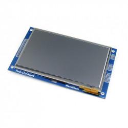 Ekran dotykowy pojemnościowy LCD TFT 7'' 800x480px dla STN32F4xx