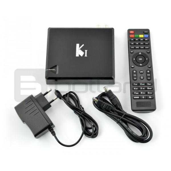 1c6f4d7fe Android 4.4 Smart TV Box K1 T2 DVB-T Kodi QuadCore 1GB RAM Maximize.  Rozgałęziacz do taśm led; Rozgałęziacz do taśm led