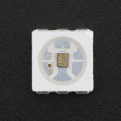 Zestaw diod LED RGB SMD 5050 ze sterownikiem - 10 szt.