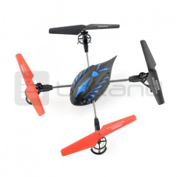 Dron quadrocopter OverMax X-Bee drone 2.2 2.4GHz - 35cm + 2 dodatkowe akumulatory