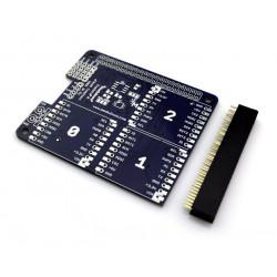 Explore R DuoNect - nakładka dla Raspberry Pi 2/B+ - MOD-80