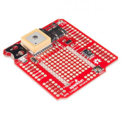 SparkFun GPS Logger Shield GPS module GP3906-TLPz a SD card reader for Arduino