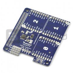 Explore R DuoNect ADC EEPROM - nakładka dla Raspberry Pi 2/B+ - MOD-79