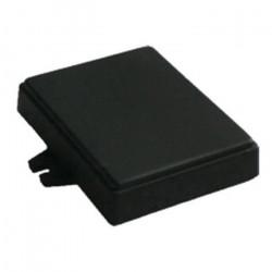 Obudowa plastikowa Kradex Z71U - 76x59x18mm czarna z uszami