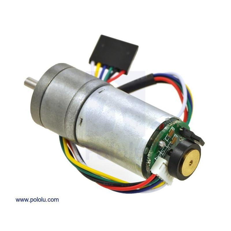 Silnik z przekładnią 25Dx48L LP 9.7:1 12V 560RPM + enkoder CPR 48
