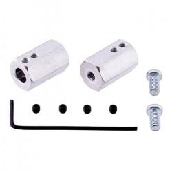 Sześciokątny adapter do kół przedłużony - 12mm/6mm - 2 szt.