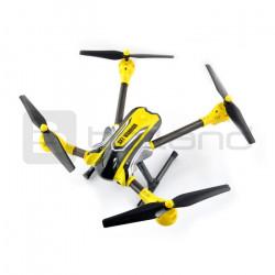 Dron quadrocopter OverMax X-Bee drone 7.1 2.4GHz z kamerą HD - 65cm + dodatkowy akumulator