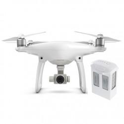 Dron quadrocopter DJI Phantom 4 z gimbalem 3D i kamerą 4k UHD + dodatkowy akumulator