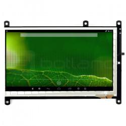 Ekran dotykowy pojemnościowy LCD TFT 7'' 800x480px HDMI + microUSB dla Odroid