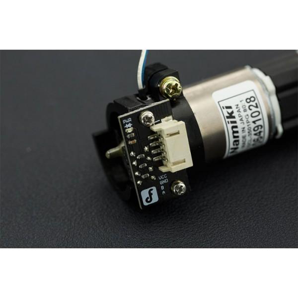 Silnik Namiki Coreless 80:1 120obr/min / 16,5kg*cm + enkoder on