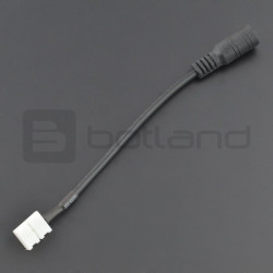 Connector Strip LED 8mm 2pin - DC 5,5/2,1mm