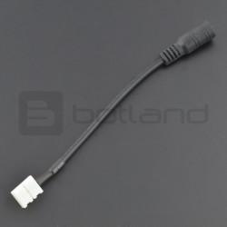Konektor do taśm LED 8mm 2 pin - DC 5,5/2,1mm