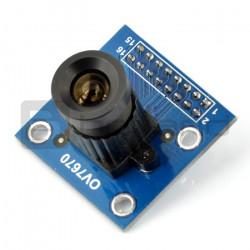 Moduł kamery OV7670 B 0,3MPx 640x480px 30fps z obiektywem HQ