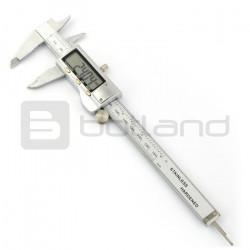 Suwmiarka elektroniczna metalowa + etui - 0-150mm