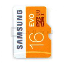 Karta pamięci Samsung EVO micro SD / SDHC 16GB 320x UHS-I klasa 10