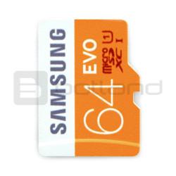 Karta pamięci Samsung EVO micro SD / SDHC 64GB 320x UHS-I klasa 10