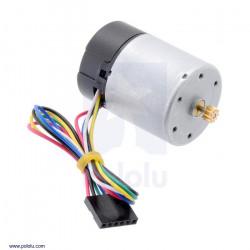 Silnik 12V 11000RPM z enkoderem CPR 64 do przekładni 37D