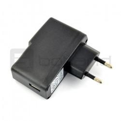 Zasilacz Kruger&Matz USB 5V 3A + przewody microUSB oraz wtyk DC 2,5 / 0,7 mm