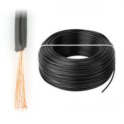 Przewód instalacyjny LgY 1x2,5 H07V-K - czarny - 1m