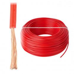 Przewód instalacyjny LgY 1x0,5 H05V-K - czerwony - 1m