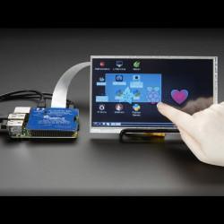DPI TFT Kippah - nakładka dla Raspberry Pi A+/B+/2/3 do wyświetlaczy dotykowych