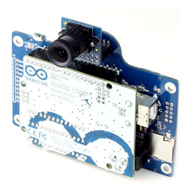 ArduCAM Shield V2 for Arduino + camera module OV2640 2MPx_