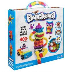 Bunchems kolorowe rzepy - mega zestaw 400 elementów