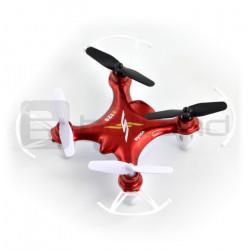 Dron quadrocopter Syma X12S Nano 2.4GHz - 7cm - czerwony