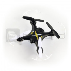 Dron quadrocopter Syma X12S Nano 2.4GHz - 7cm - czarny
