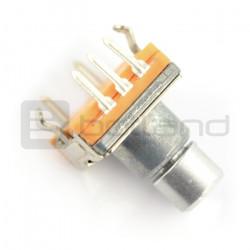 Enkoder z przyciskiem 30 impulsów 10mm - EC20 pionowy
