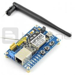 WiFi232 Eval Kit - moduł główny WiFi501 oraz układ WiFi232B