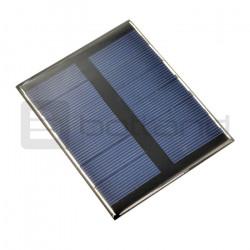Ogniwo słoneczne 0,6W / 6V 112x91x3mm