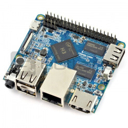 Nano Pi M1 - Allwinner H3 Quad-Core 1,2GHz + 1GB RAM