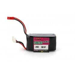 3E Model Max Force 900 mAh 11,1V 25C