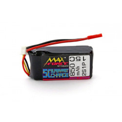 3E Model Max Force 850 mAh 7,4V 15C